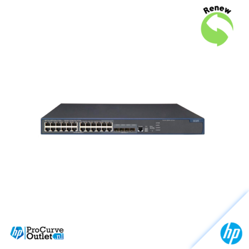 RENEW HP E4800-24G Switch / 3COM 3CRS48G-24-91 in OVP