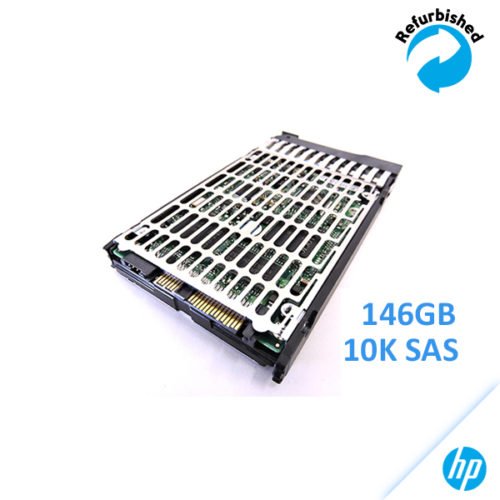 HP 146GB 2.5-inch SFF SAS 6Gb/s 10K RPM DG0146ABAB4 /w Bracket
