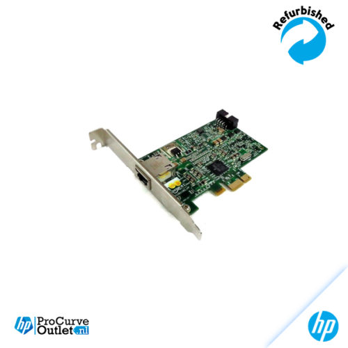 HP Broadcom NetXtreme Single Port 1GbE NIC PCIe LP