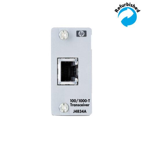 HP ProCurve Gigabit 100/1000 T module J4834A 0725184525087