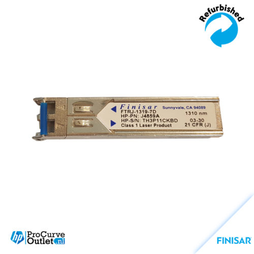 Finisar FTRJ13197D 1GBASE SFP Transceiver J4859A