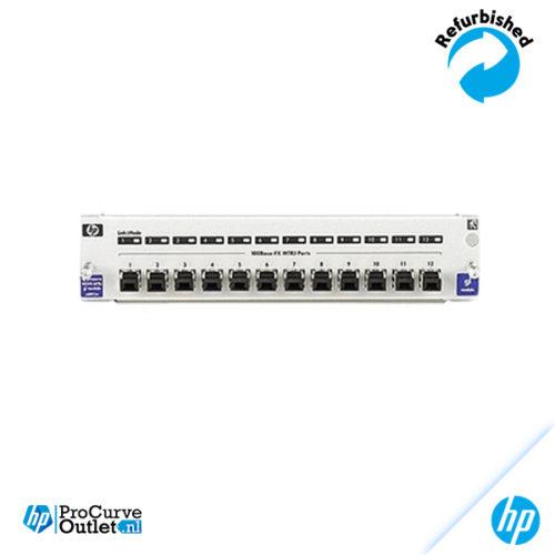 HP ProCurve gl 12-Port 100-FX MTRJ Module J4892A 808736419284