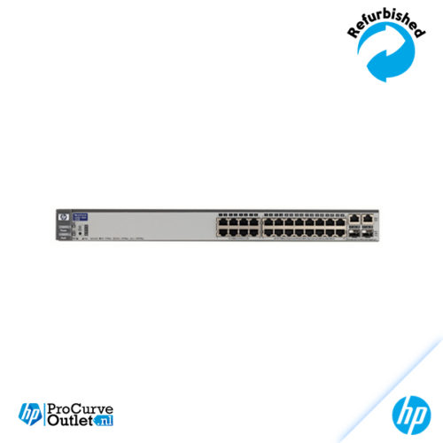 HP ProCurve 2626 24x 10/100, 2xGbit, 2xSFP J4900A 630913000240