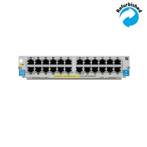 HP 24-port 10/100/1000 PoE zl Module J8702A 0882780284630