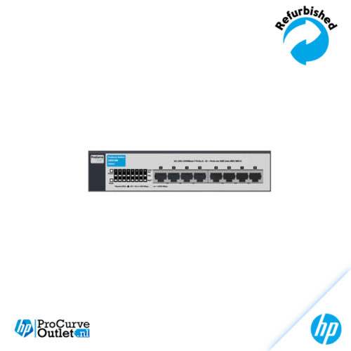 HP ProCurve Switch 1800 8G J9029A 882780585928