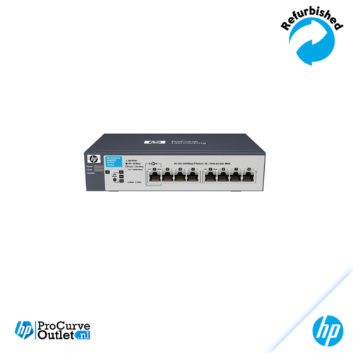 HP ProCurve 1700-8 8x10/100 Switch J9079A