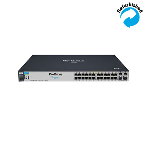 HP ProCurve 2610-24-PoE 24x10/100, 2x SFP J9087A 0883585199198