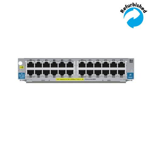 HP 24-port 10/100/1000 PoE+ zl Module J9307A 0884962254967