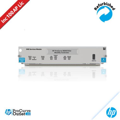 HP MSM765 zl Premium Controller J9370A 100 AP licentie 884962098325