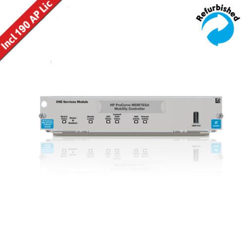 HP MSM765 zl Controller J9370A incl 190 AP Licentie 0884962098325