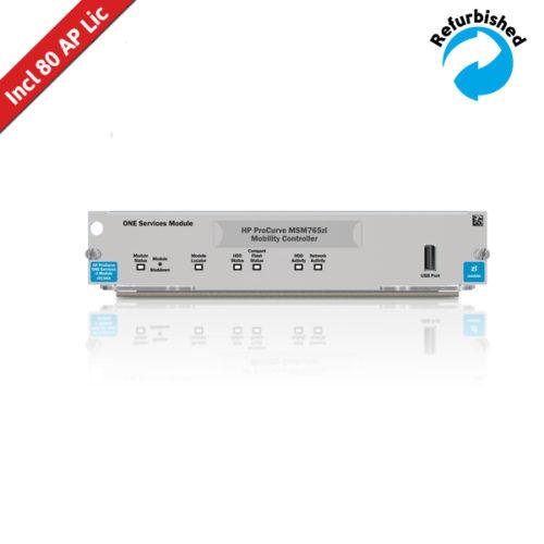 HP MSM765 zl Controller /w 80 AP Licentie J9370A 0884962098325
