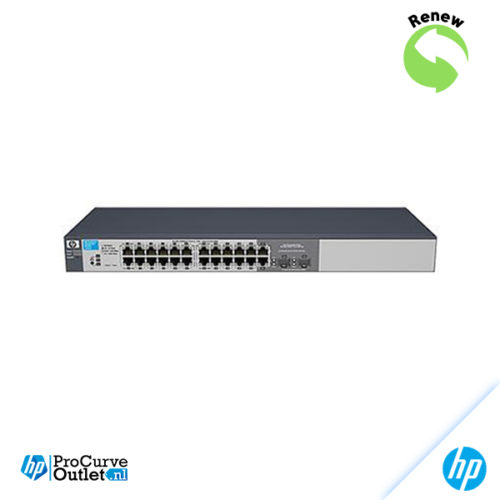 HP ProCurve 1810G-24 24xGigabit Switch, J9450AR 5052179846571