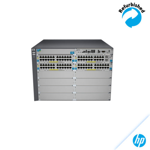 HP 5412-92G-PoE+-2XG v2 zl Switch with Premium Software J9532A 0885631941348