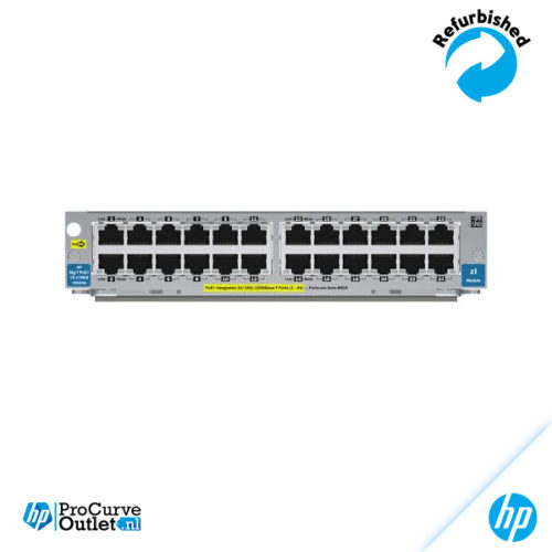 HP 24-port Gig-T PoE+ v2 zl Module J9534A