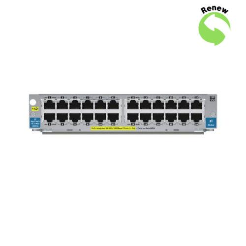 HP 24-port Gig-T PoE+ v2 zl Module J9534A Renew Box 0885631940839