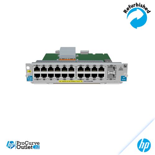 HP 20 port Gig-T PoE+/ 2p 10 GbE SFP+ zl v2 Module J9536A