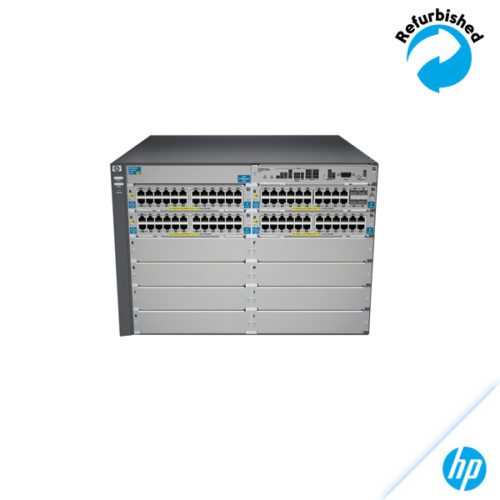 HP 5412-92G-PoE+-4G v2 zl Switch with Premium Software J9540A 0885631941515