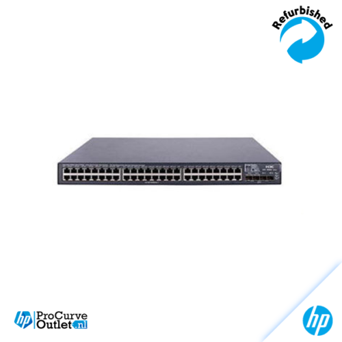 HP Switch A5800-48G + Module in backslot: LSW1SP2P0 (JC092B) 2 Ports SFP Module