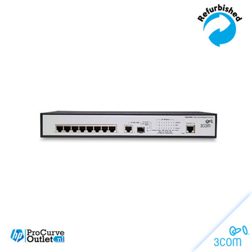 HP / 3Com 3CRDSF9PWR 8-Port 10/100 PoE JD877A