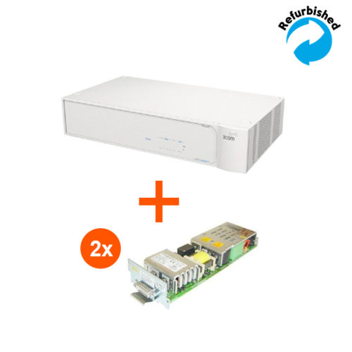 3com SuperStack 3 ADVANCED RPS CHASSIS + (2x 3C16075) 3C16071B JE700A