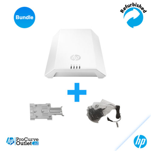 HP M330 Dual Radio 802,11ac (WW) AP JL063A with Wallmountkit